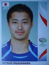 Panini 448 Mitsuo Ogasawara Japan FIFA WM 2006 Germany