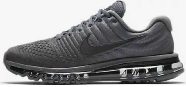 new arrival 93398 edeb1 Nike Air Max 2017 Size 12 Mens Running Shoes Lifestyle SNEAKERS Cool Grey  Black