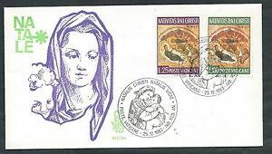1983 Vaticano Busta Speciale Venetia 203 Natale - Sv14