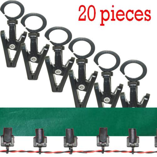 20 Per Pack Klippy Klip,Awning Hanger Clips for Rope Lights Super RV Designer