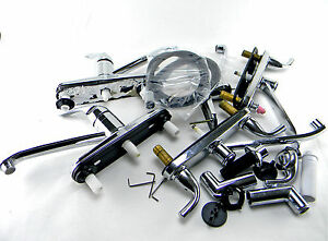 Mixed Lot Of 6 Home Depot Glacier Bay Kitchen Faucets Chrome Ebay
