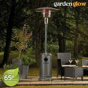 Garden Glow 13kw Gas Patio Heater Free Standing Outdoor
