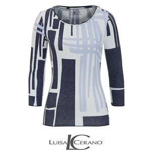 Uk Box45 Cerano 14 Ladies 74 Pattern K Blue Size 40 Top Luisa x0dZ7wqzZ