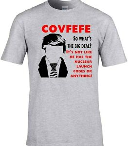 Covfefe T-shirt Donald Trump Tweet USA President America Funny T ...