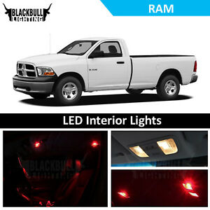 Image Is Loading Red Led Interior Lights Replacement Package Kit Fits