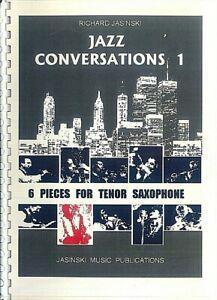 Jazz-Conversations-Richard-Jasinski-6-Pieces-for-Tenor-Saxophone