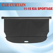 For 11-15 Kia Sportage Retractable BLK Cargo Cover Rear Trunk Luggage Shade