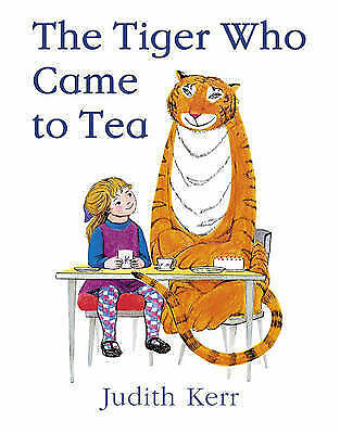 The Tiger Who Came to Tea by Judith Kerr - full size, children's book