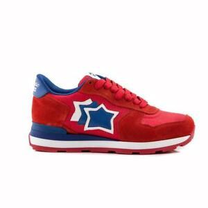Atlantic-stars-donna-rossa-blu-sneakers-donna-estate-2019-Vega-scarlet-Blue