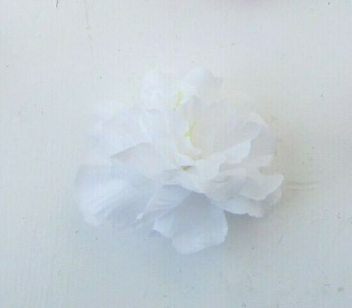 Pivoine Fleur Cheveux Clip Tropical Floral Plume Wild Rose Slide Hibiscus 0576