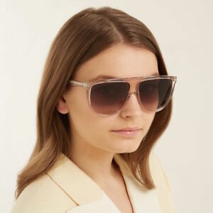 a58d5dbe27a1 Image is loading Celine-Thin-Shadow-Sunglasses-in-Transparent-Smoke-Acetate-