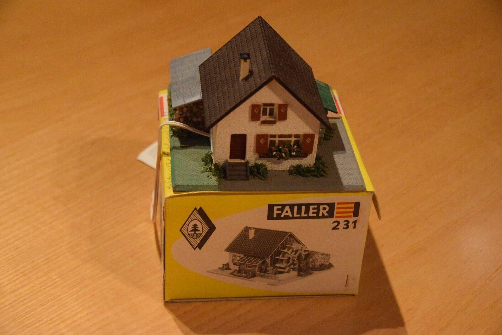 FALLER 231 Wassermühle mit Motor Top inkl. OVP