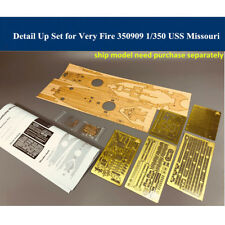 Detail Up Set for Very Fire VF350909 1/350 USS Battleship Missouri Model CYE011