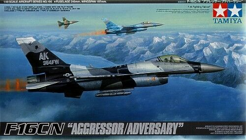 Tamiya 1 48 F-16C N Aggressor   Adversary
