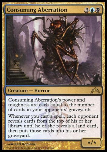 Creature Horror Rare *FOIL* CONSUMING ABERRATION NM mtg Gatecrash Gold