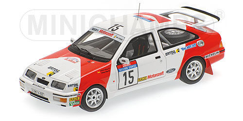 Minichamps 437878015 FORD SIERRA RS COSWORTH SAINZ BOTO TOUR DE CORSE 1987 1/43