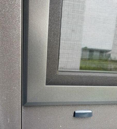 Moustiquaire Protection Insectes Serrage Cadre Slim 5,8 mm uniquement prêt assemblé
