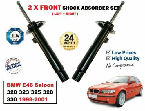 RIGHT SHOCK ABSORBERS SET for BMW E46 320 323 325 328 330 1998-2001 FRONT LEFT