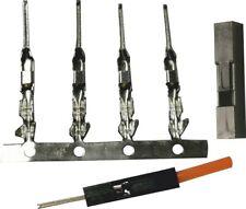 40x Crimpkontakte Dupont 1-Pin Stiftkontakt männlich 2,54mm Gehäuse