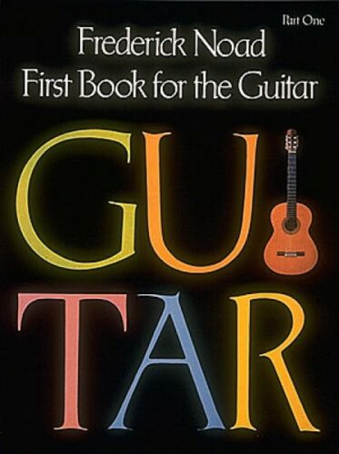 First Book for the Guitar Part 1 Guitar Technique Guitar Method NEW 050334370