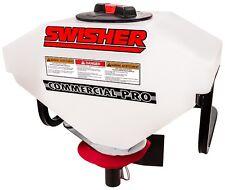 SWISHER Salzstreuer 12V für Quad und ATV, auch für Saatgut, Dünger, Sand NEU