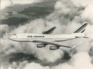 AIR FRANCE BOEING 747-400 LARGE OFFICIAL PHOTO