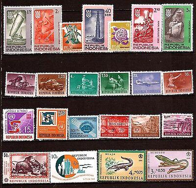 briefmarken Neu 52m 278t3 Modischer Stil; 100% QualitäT Indonesien Themen Verschiedene In