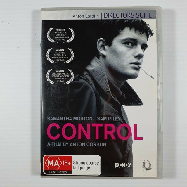 Control DVD Anton Corbijn Director's suite edition Sam Riley Region 4 four OOP