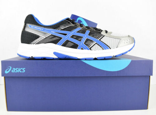 Asics Contend Wide Sneaker 12 Zwart Sz Zilver Nieuw Gel 4 Blauw Heren Running 4e 5 qRxq5r