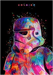 Image is loading Stormtrooper-Poster-Star-Wars-STT01-A3-A4-POSTER-