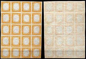 211-Antichi-Stati-Sardegna-Blocco-20-pezzi-80-cent-Nuovi