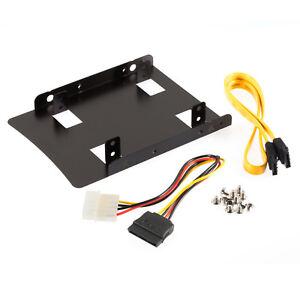 Poppstar-Einbau-Kit-fuer-interne-2-5-Zoll-SSD-HDD-zum-Einbau-auf-3-5-Zoll