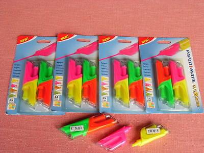 10 Farben Doppelt-Ende Textmarker 10er-Pack light Marker Highlighter radierbar
