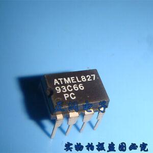 10PCS AT93C66 93C66 9366 DIP MICROCHIP 8-PIN NEW