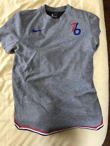 regular participar legal  Philadelphia 76ers Camisa Nike City Edición 2018-2019 para Hombres Medio    eBay