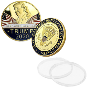 Donald Trump 2020 Keep America Great Commemorative Challenge Coin EagleCoin