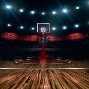 background photo vinyl 8x8ft studio props backdrop scene basketball
