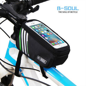 Bicycle Mobile Phone Holder Outdoor Mountain Bike Frame Front Top