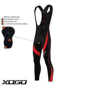 New-Pro-Mens-Cycling-Bib-Tights-Coolmax-Padded-Long-Leggings-MTB-Bike-Trouser