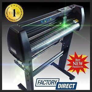 Details about Vinyl Cutter Plotter Laser Optical Eye Craft Sign Maker  Contour Cutting Pro KASA