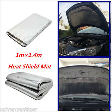 1mx1.4m Heat Shield Mat Car Turbo Exhaust Muffler Insulation Hood Cotton Pad Mat