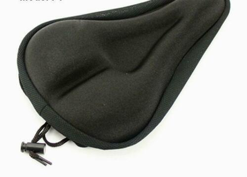 Silicone Soft Bike Bicycle MTB Saddle Cushion Thickening Seat Cover Pad Comfort