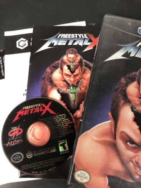 Freestyle MetalX Metal X Nintendo GameCube 2003 Game Tested w/ Manual
