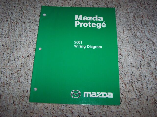 2001 Mazda Protege 5 Protege5 Factory Original Electrical ...