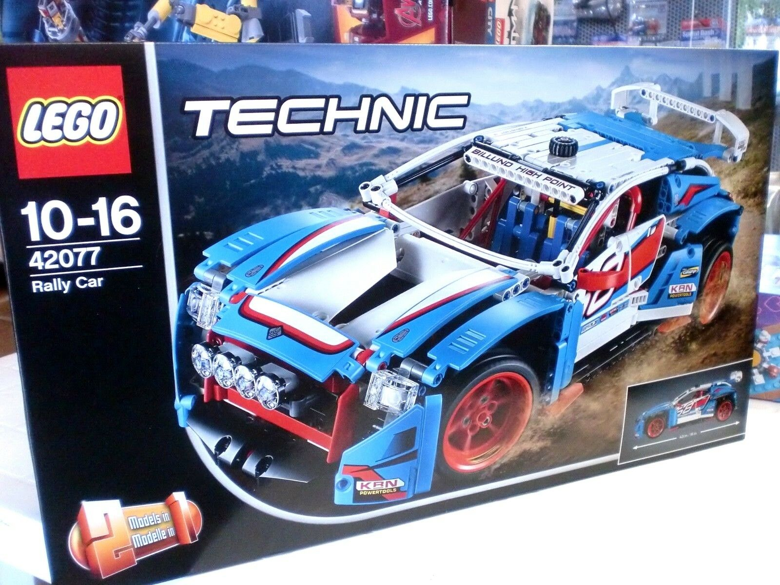 LEGO 42077 - RALLY CAR - SERIE TECHNIC