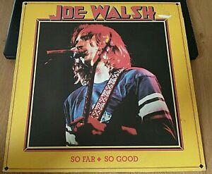 Joe Walsh – So Far So Go: Vinyl LP. ABC Records – ABCL 5240, UK.1978. Ex / VG+