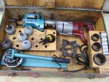 T Drill T 50 Copper Pipe Drill Tee Forming With Bits And Notcher Full Set Nice