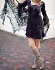 Odd Molly Saga Shimmer Dress Samtkleid Velour Tunika Stickereien Volants Gr. 2