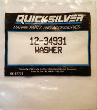New Old Stock OEM Quicksilver 12-34931 Mercury Merecruiser Force Hub WASHER