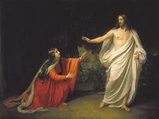 Ivanov L'apparizione di Jesus Christ a Maria Magdalena quadro olio tela dipinto